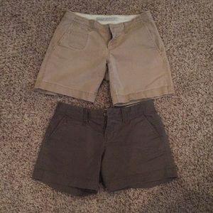 2 old navy shorts